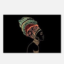 African Woman Postcards (Package of 8)