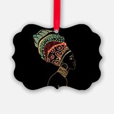 African Woman Ornament