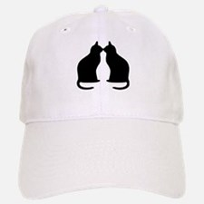 Black cats silhouette Hat
