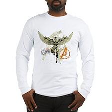 Falcon Grunge Long Sleeve T-Shirt