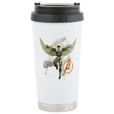 Falcon Grunge Thermos Mug