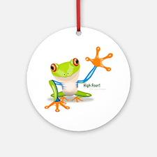 Freddie Frog Ornament (Round)