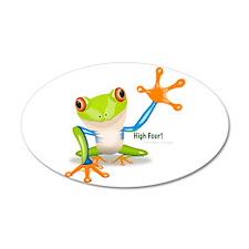 Freddie Frog Wall Decal