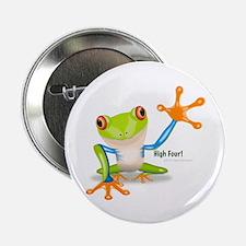 "Freddie Frog 2.25"" Button (10 pack)"