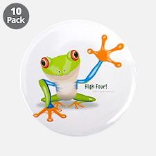 "Freddie Frog 3.5"" Button (10 pack)"