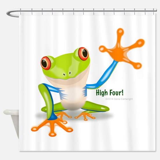 Frog Shower Curtains
