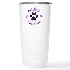 Run Fast • Run Clean Travel Mug