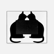 Black Cats Silhouette Picture Frame