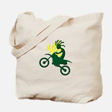Dirt Bike Tote Bag