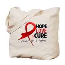 Heart Disease Hope Tote Bag