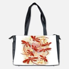Dragonfly Splash Diaper Bag