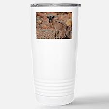 Climbing Baby Goat Stainless Steel Travel Mug