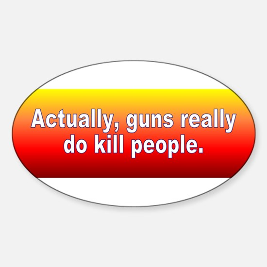 guns kill Decal