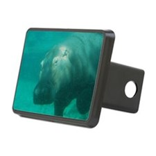 Hippo Under the Water Hitch Cover
