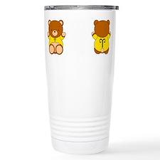 Cute Dating cartoon Travel Mug