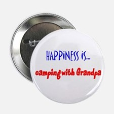 Happiness is Camping with Gra Button