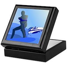 Wakeboarder Keepsake Box