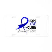 Dysautonomia Hope Aluminum License Plate