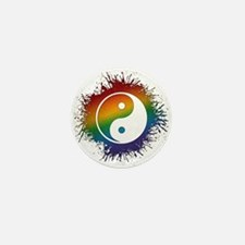 LGBT Taoism's Yin and Yang Mini Button (10 pack)
