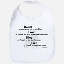 Dance as if... Bib