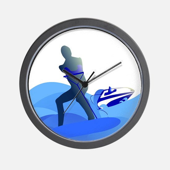 Wakeboarder Wall Clock