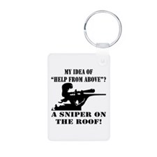A Sniper On The Roof Keychains