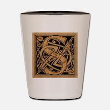 Celtic Monogram S Shot Glass