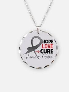 Diabetes Hope Necklace Circle Charm