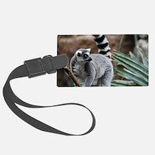 Madagascar Lemur Luggage Tag