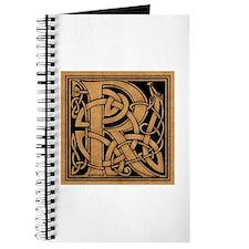 Celtic Monogram R Journal