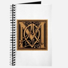 Celtic Monogram M Journal