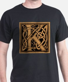 Celtic Monogram K T-Shirt