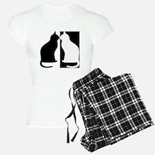 Black and white cats Pajamas