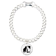 Black and white cats Bracelet