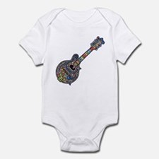 Mosaic Mandolin Infant Bodysuit
