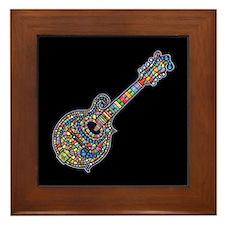 Mosaic Mandolin Framed Tile