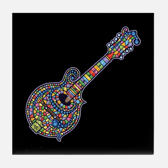 Mosaic Mandolin Tile Coaster