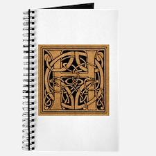 Celtic Monogram H Journal
