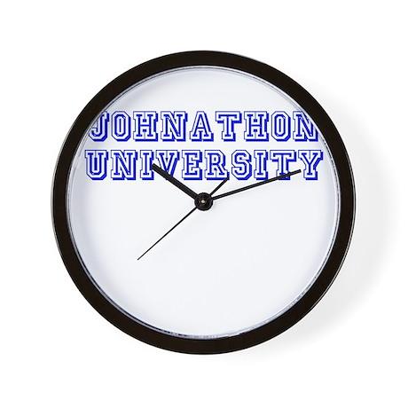 Johnathon University Wall Clock