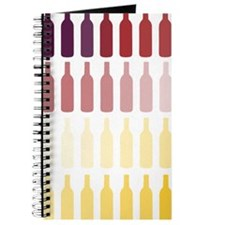 Wine Bottles Journal