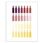 Wine Bottles Posters Small Poster