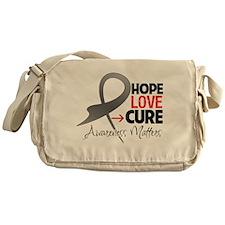 Brain Tumor Hope Messenger Bag