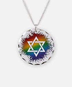 LGBT Judaic Star of David Necklace