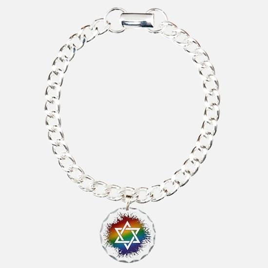 LGBT Judaic Star of Davi Bracelet