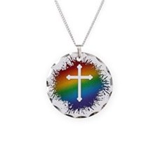 LGBT Christian Cross Necklace