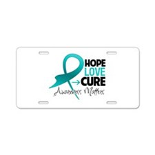 Batten Disease Hope Aluminum License Plate