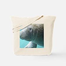 Cute Manatee Tote Bag