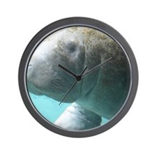 Cute Manatee Wall Clock