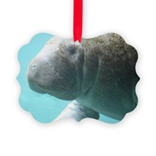 Cute Manatee Ornament