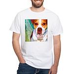 Pitbull White T-Shirt